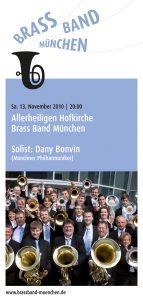 Brass Band München: Programmheft