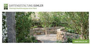 Gartengestaltung Gumler: Flyer