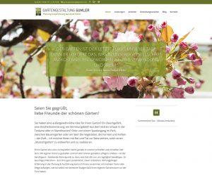 Gartengestaltung Gumler: Website