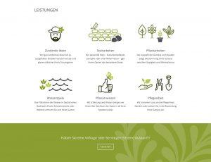 Gartengestaltung Gumler – Website-Icons