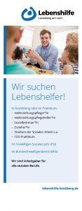 """Lebenshilfe Landsberg: Rollup-Banner """"Lebenshelfer"""""""