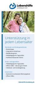 """Lebenshilfe Landsberg: Rollup-Banner """"Senioren"""""""