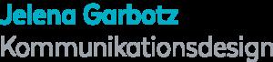 Logo Jelena Garbotz Kommunikationsdesign