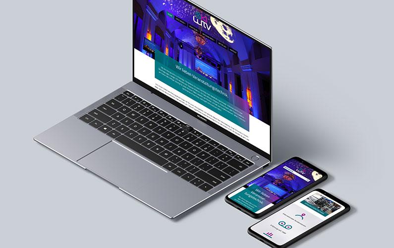 LuTV Veranstaltungstechnik – Responsive Website