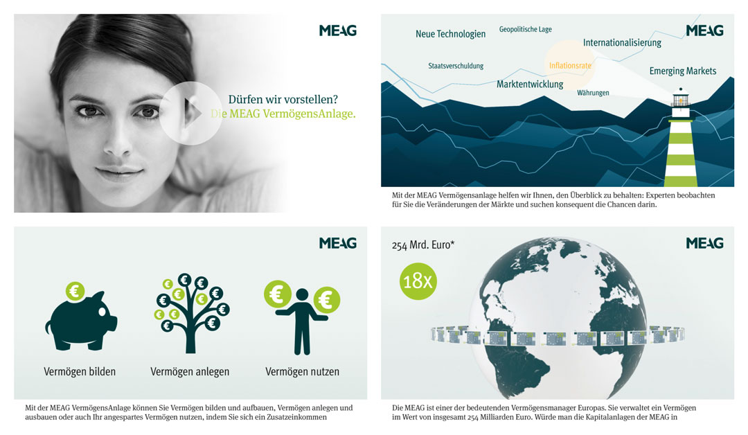 "MEAG: Animationsfilm ""MEAG Vermögensanlage"""