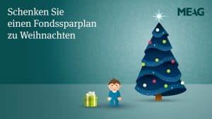 """MEAG – Weihnachtsaktion """"Fondssparplan"""""""