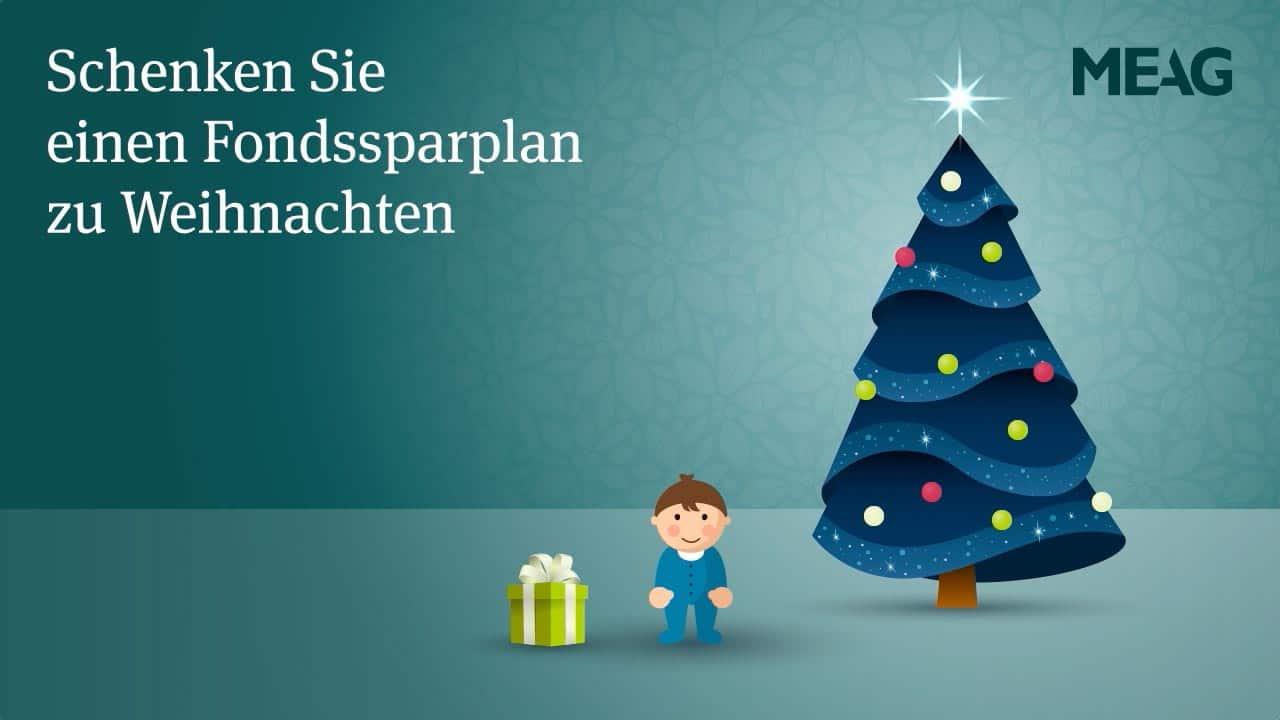 """MEAG: Weihnachtsaktion """"Fondssparplan"""""""