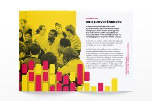 Spielen in der Stadt Programmheft 2020: Eroberung