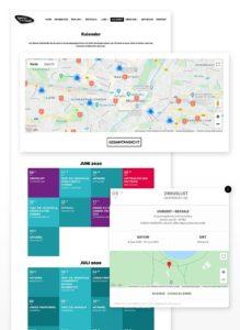 Spielen in der Stadt Website: Kalender