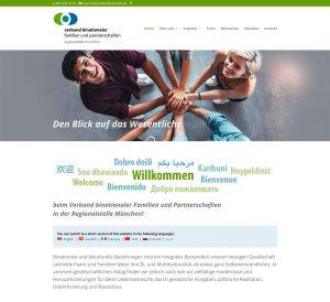 Verband binationaler Familien und Partnerschaften – Website