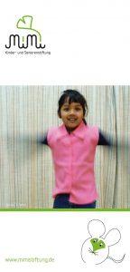 mimi Kinder- und Seniorenstiftung: Faltblatt