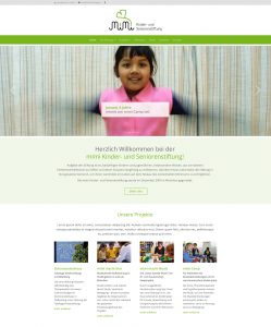 mimi Kinder- und Seniorenstiftung: Website
