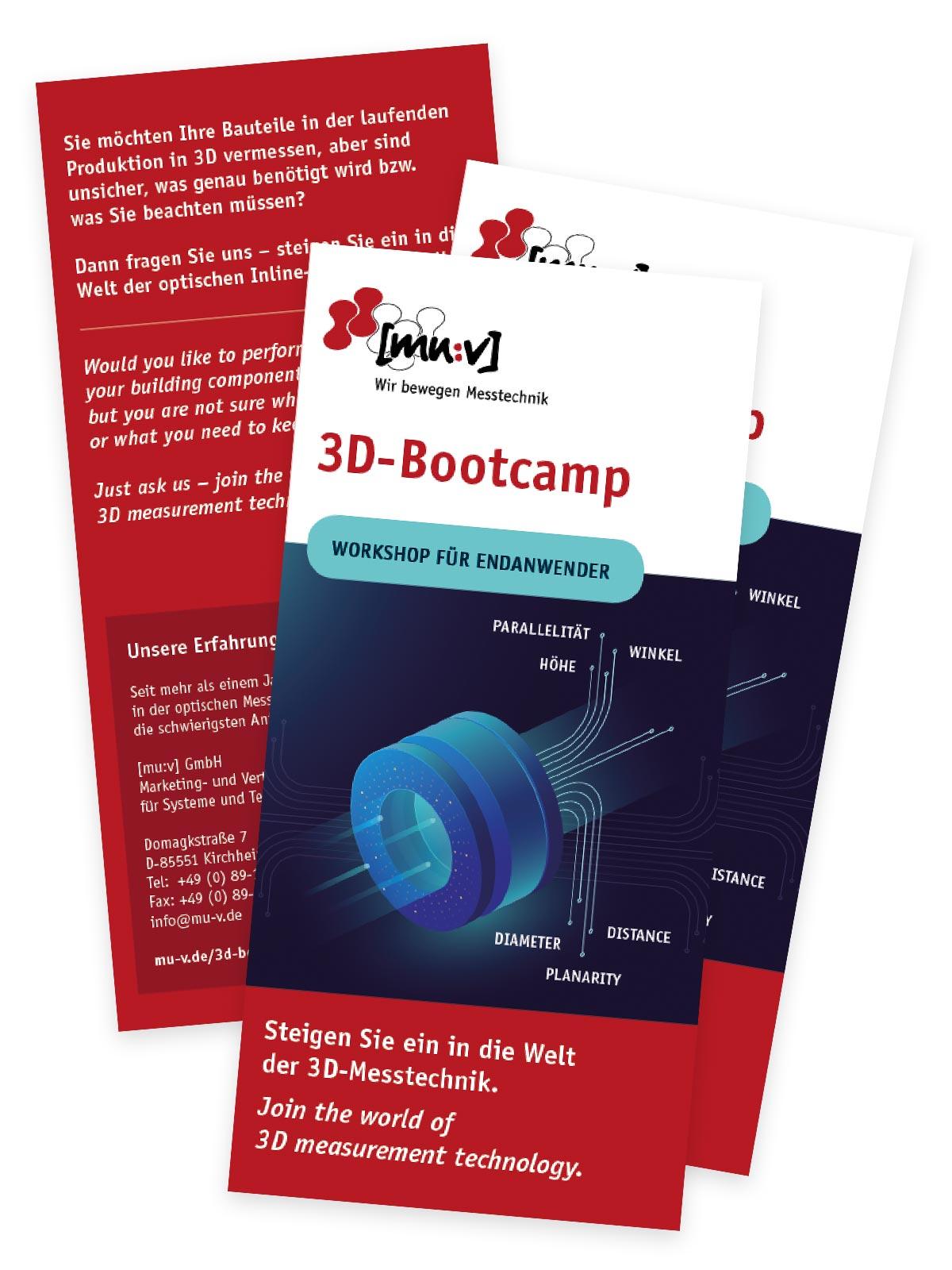 [mu:v] Messtechnik: Faltblatt Workshop 3D-Bootcamp